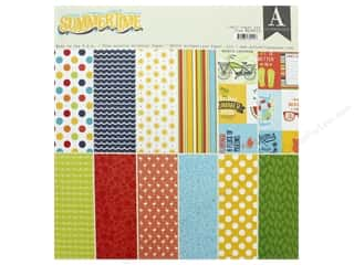 scrapbooking & paper crafts: Authentique 12 x 12 in. Paper Pad Summertime