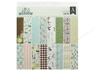 scrapbooking & paper crafts: Authentique Collection Meadow Collection Kit 12 in. x 12 in.