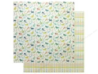 Authentique Collection Meadow Paper 12 in. x 12 in. Four (25 pieces)