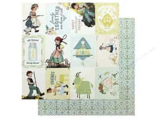 scrapbooking & paper crafts: Authentique Collection Meadow Paper 12 in. x 12 in.Eight (25 pieces)