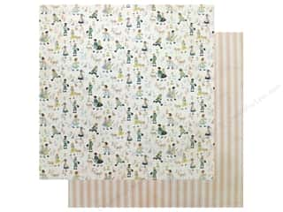 Authentique Collection Meadow Paper 12 in. x 12 in. Seven (25 pieces)