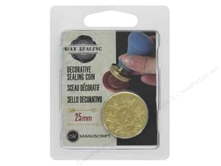 Manuscript Wax Sealing Coin 25 mm Mandala