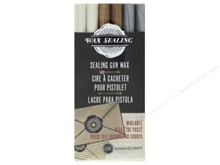 Manuscript Wax Sealing Gun Wax 6pc Pearl, Gold, Silver