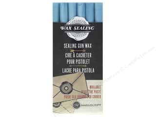 Manuscript Wax Sealing Gun Wax 6 pc Powder Blue