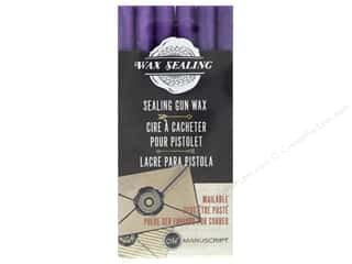 Manuscript Wax Sealing Gun Wax 6 pc Lilac