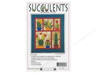 Rachel's Of Greenfield Kit Wall Quilt Succulents