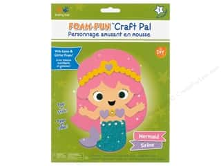 projects & kits: Multicraft Krafty Kids DIY Kit Foam Pal Mermaid