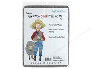 sewing & quilting: Quilt In A Day Pressing Mat Small Wool Gray