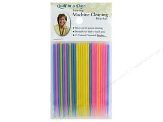 Quilt In A Day Sewing Machine Cleaning Brush 25 pc