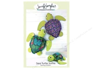 books & patterns: Jennifer Jangles Sea Turtle Softie Pattern