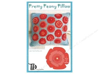 Tracy Trevethan Designs Patterns - Pretty Peony Pillow