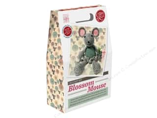 yarn & needlework: Crafty Kit Company Kit Crochet Blossom Mouse