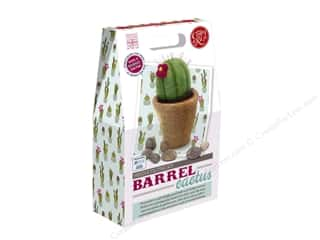 yarn & needlework: Crafty Kit Company Kit Needle Felt Barrel Cactus