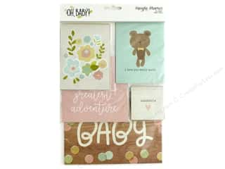 Simple Stories Collection Oh Baby Snap Cards