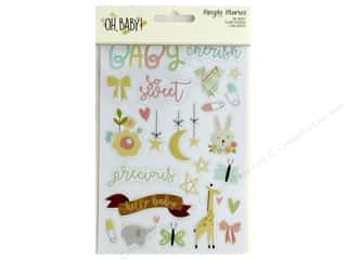 Simple Stories Collection Oh Baby Sticker Clear