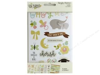 Simple Stories Collection Oh Baby Sticker 4 in. x 6 in.