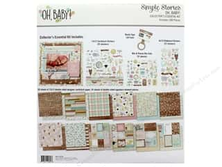 Simple Stories Collection Oh Baby Collector's Essential Kit