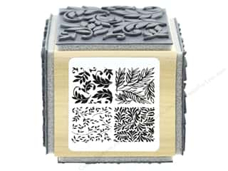 stamp cleaner: Stampendous Cling Rubber Stamp Fran's Cube Foliage