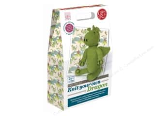 Crafty Kit Company Kit Knitting Dragon