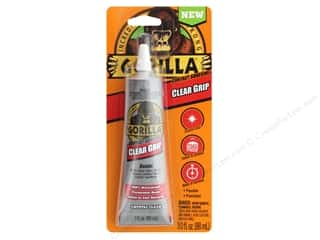 glues, adhesives & tapes: Gorilla Glue Grip Contact Adhesive 3 oz Tube Card