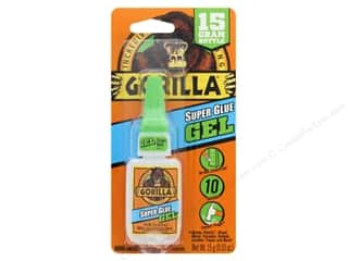 Gorilla Glue Super Glue Gel .53 oz Bottle