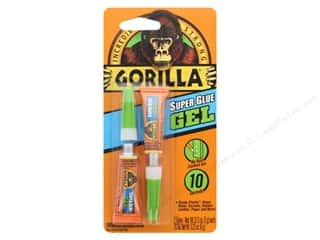 glues, adhesives & tapes: Gorilla Glue Super Glue Gel 3 g Tube 2 pc