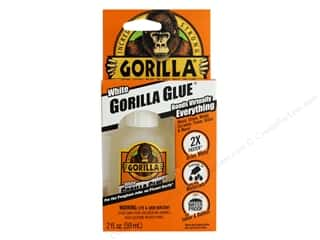 glues, adhesives & tapes: Gorilla White Gorilla Glue 2 oz.