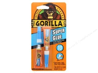 glues, adhesives & tapes: Gorilla Super Glue 2 pc.
