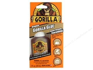 glues, adhesives & tapes: Gorilla Glue 2 oz.