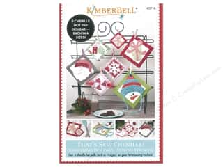 Kimberbell Designs Books That's Sew Chenille Christmas Hot Pads Sewing Version Book