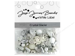beading & jewelry making supplies: Jesse James Bead White Label Design Element Crystal Glacier