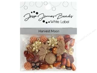 beading & jewelry making supplies: Jesse James Bead White Label Design Element Harvest Moon