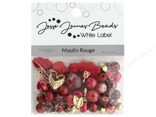beading & jewelry making supplies: Jesse James Bead White Label Design Element Moulin Rouge