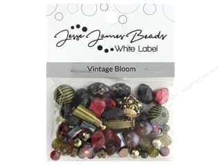 beading & jewelry making supplies: Jesse James Bead White Label Design Element Vintage Bloom