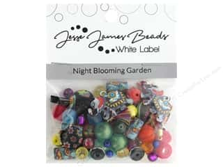 beading & jewelry making supplies: Jesse James Bead White Label Design Element Night Blooming Garden
