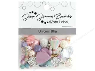 beading & jewelry making supplies: Jesse James Bead White Label Design Element Unicorn Bliss