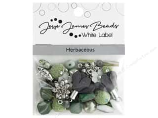 beading & jewelry making supplies: Jesse James Bead White Label Design Element Herbaceous