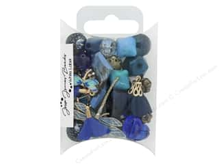 beading & jewelry making supplies: Jesse James Bead White Label Inspiration Indigo Soul