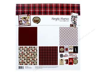 Simple Stories Collection Plaid Dad Collection Kit 12 in. x 12 in.