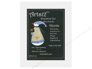 yarn & needlework: Artsi2 Wool Felt Kit Glenda