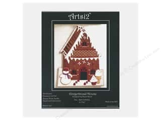 yarn & needlework: Artsi2 Wool Felt Kit Victorian Gingerbread House