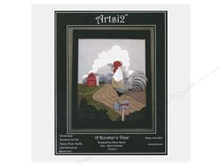 Clearance: Artsi2 Wool Felt Kit Rooster With a View