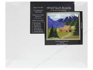 "projects & kits: Artsi2 Quilt Board 13.5""x 11"" Mountains & Meadows"