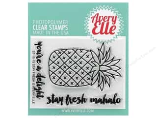 stamps: Avery Elle Clear Stamp Stay Fresh