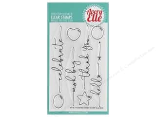 scrapbooking & paper crafts: Avery Elle Clear Stamp Floating Wishes