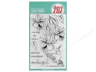 Avery Elle Clear Stamp Hummingbird