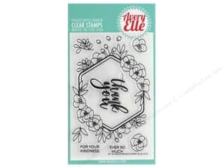 Avery Elle Clear Stamp Blooming