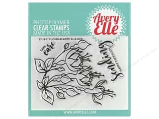Avery Elle Clear Stamp Fuchsia