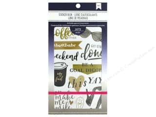 American Crafts Sticker Planner Book Elegant