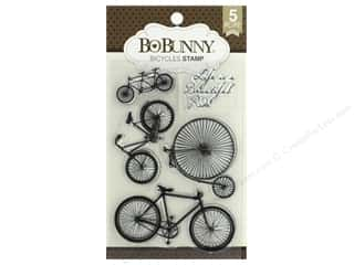 stamps: Bo Bunny Stamp Essentials Bicycles